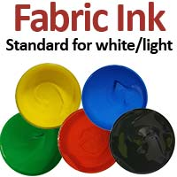 Standard Fabric Ink (white/ light colours)
